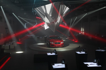 Bentley Car Launch Shanghai - Lighting Programmer