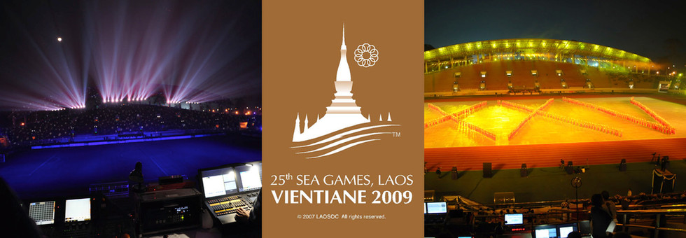 2009 SEA Games Opening Ceremony - Lighting Programmer