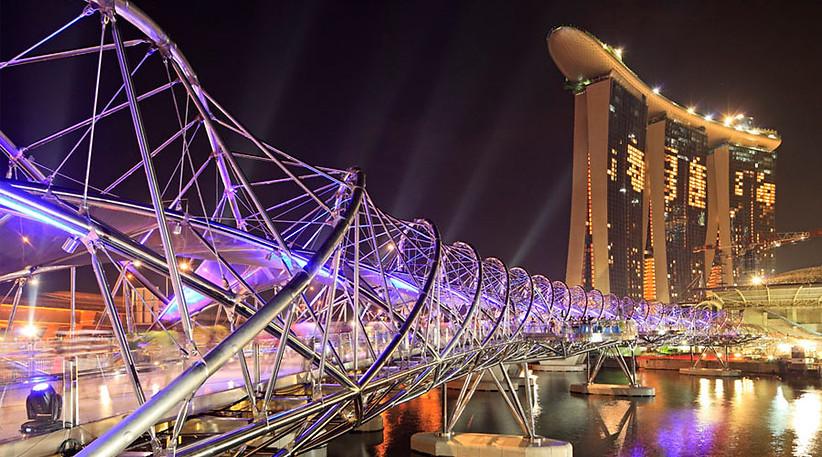 Official Opening of Helix Bridge - Lighting Programmer