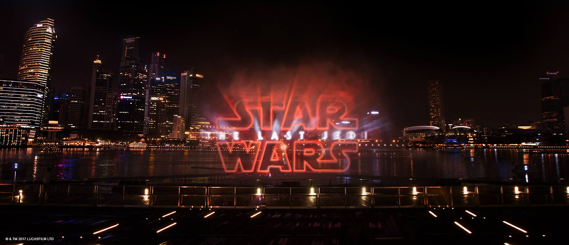 MBS Star Wars Launch - Water Jets and Lighting Programmer
