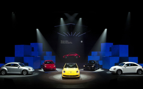 New Beetle Launch in KL - Lighting Programmer