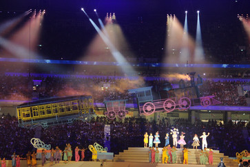 2015 SEA Games Opening Ceremony - Lead Lighting Programmer