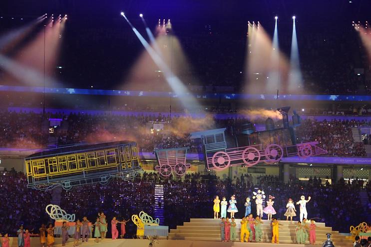 2015 SEA Games Opening Ceremony - Lead Lighting Programmer
