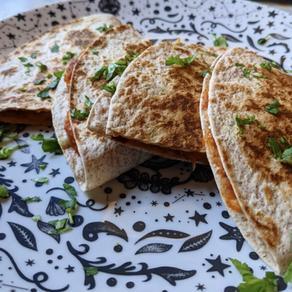 Cheesy Bean Quesadillas