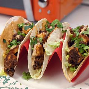 Halloumi Bean Tacos