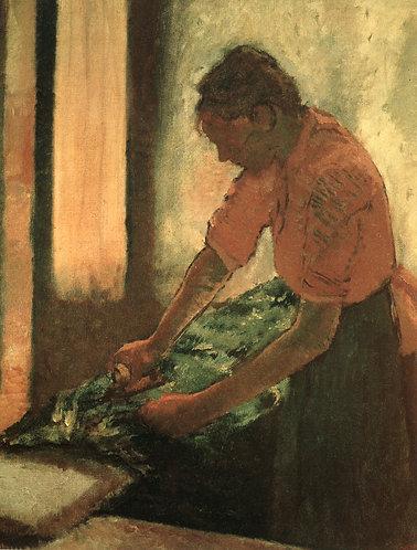 Degas_Woman Ironing