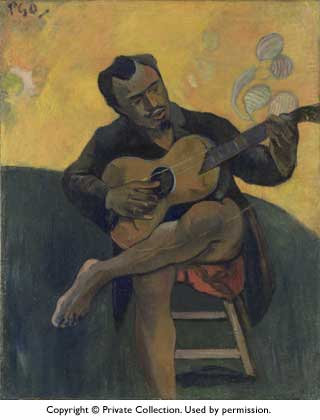 Gaugin_The Guitar Player