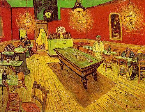 """""""The Night Café"""" by Van Gogh"""