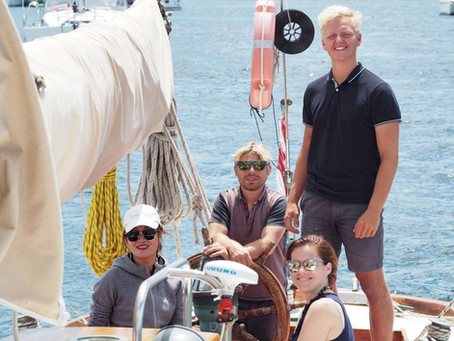 Traveling the world as crew on sailing boats