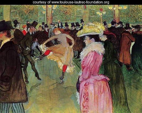 Toulouse-Lautrec_At the Moulin Rouge: the Dance