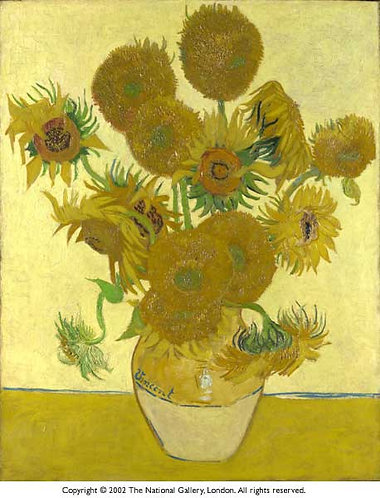 """Sunflowers"" by Van Gogh"