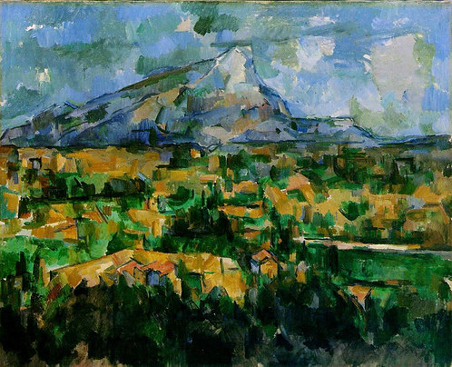 Cezanne_Mont Sainte-Victoire