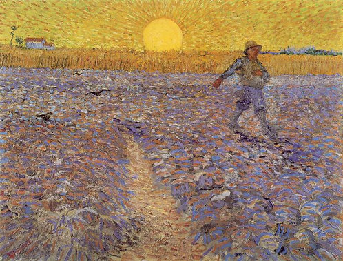 """The Sower"" by Van Gogh"