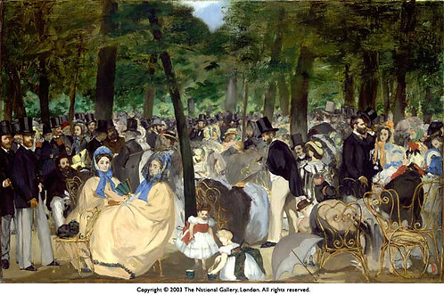 Monet_Music in the Tuileries Gardens
