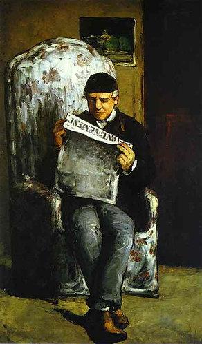 Cezanne_Portrait of Louis-Auguste Cezanne, the Artist's Father