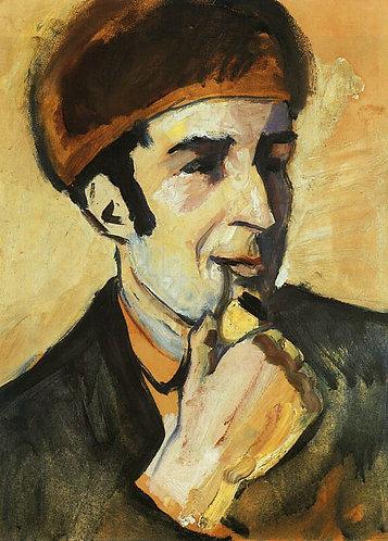 Portrait of Franz Marc (Bildnis Franz Marc)