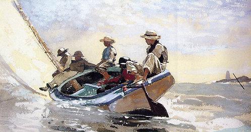 Sailing the Catboat