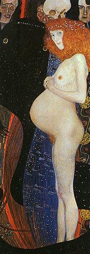 """Hope 1"" by Klimt"