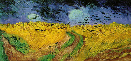 """""""Wheatfield with Crows"""" by Van Gogh"""