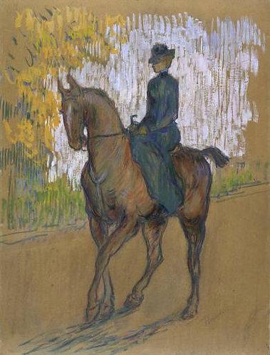 Toulouse-Lautrec_Side-saddle
