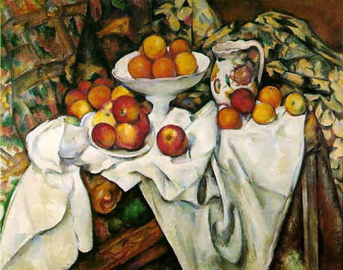 Cezanne_Apples and Oranges