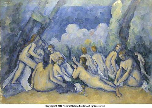 Cezanne_Les Grandes Beigneuses