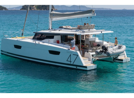 Luxury Sailing Catamaran - Saona 47 - Fountaine Pajot Delivery