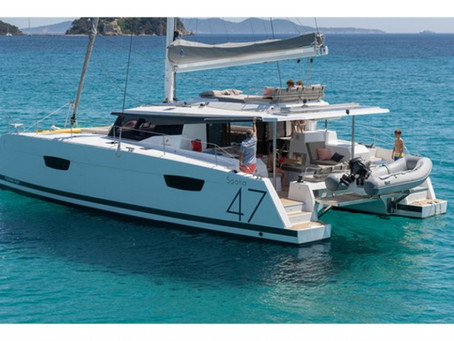 Luxury Sailing Catamaran - Saona 47 - Fountaine Pajot Delivery
