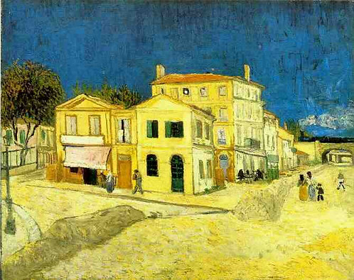 """The Yellow House"" by Van Gogh"