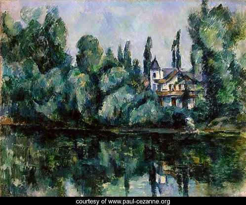 Cezanne_Banks of Marne