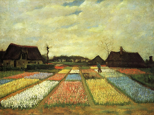 """Bulb Fields"" by Van Gogh"