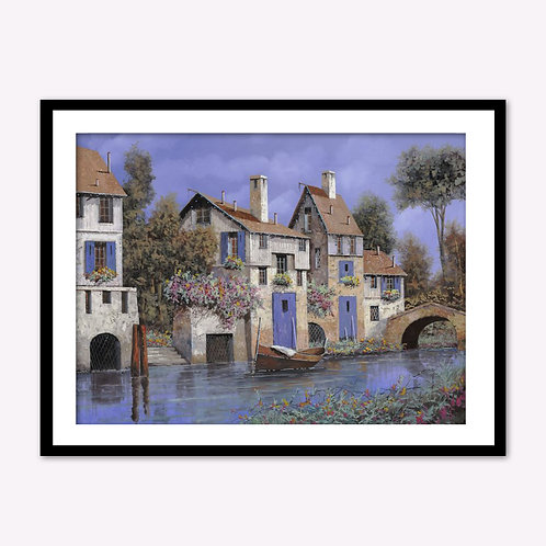 Houses by the River