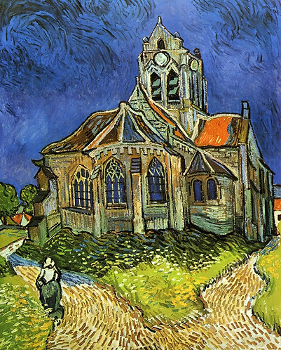"""Church at Auvers"" by Van Gogh"