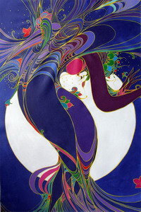 Woman In The Moonlight