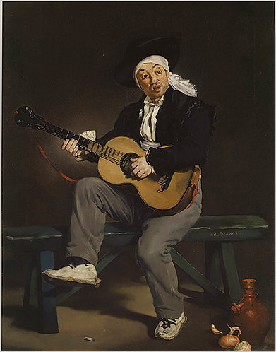 Manet_The Spanish Singer