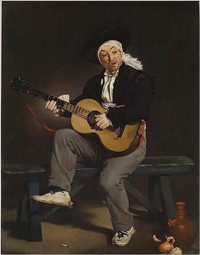 Manet_The Spanish Singer