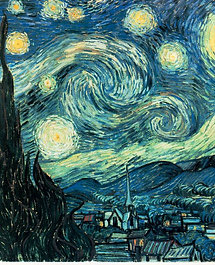 """The Starry Night"" by Van Gogh"