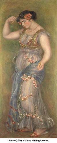 Renoir_Dancing girl with Castanets