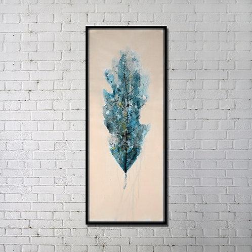 Fading leaf (Blue)
