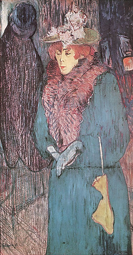 Toulouse-Lautrec_Jane Avril with Gloves
