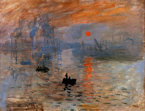 """Impression, Sunrise"" by Monet"