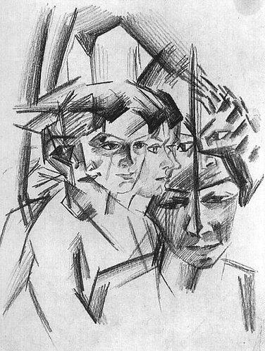 Futurist Heads (Futuristiche Kopfe)