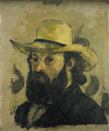 Cezanne_Self-Portrait in a Straw Hat