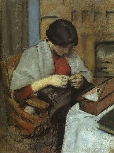 Elisabeth Gerhardt Sewing (Elisabeth Gerhardt Nahend)