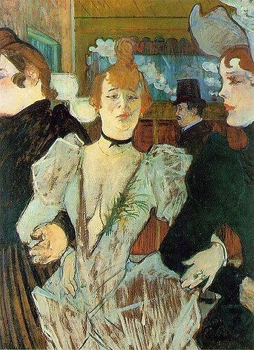 Toulouse-Lautrec_La Goulue Enters the Moulin Rouge