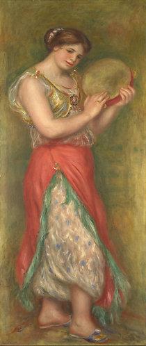 Renoir_Dancing girl with Tambourin