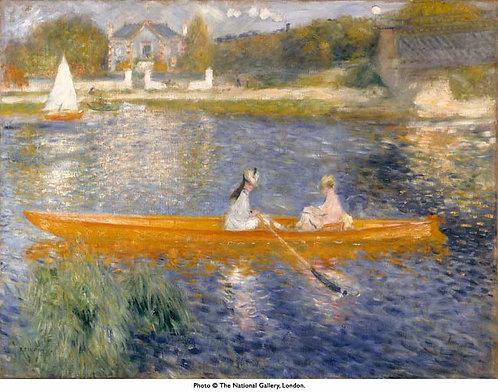 Renoir_The Skiff (La Yole)