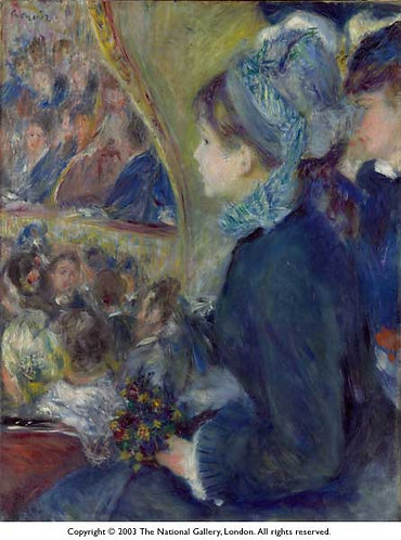 Renoir_At the Theatre (La Premiere Sortie)
