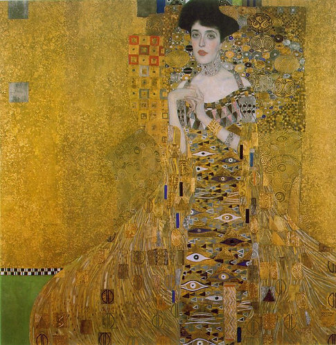 """Portrait of Adele Bloch-Bauer"" by Klimt Painting"