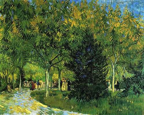 """Avenue in the Park"" by Van Gogh"